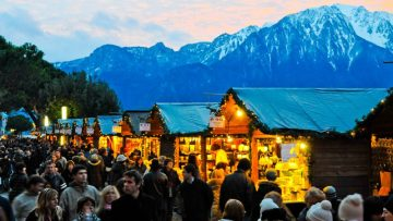 Christmas Markets on Lake Geneva in Switzerland