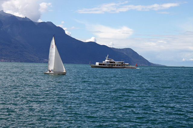 Sailing Boat & Pleasure Cruise on Lake Geneva