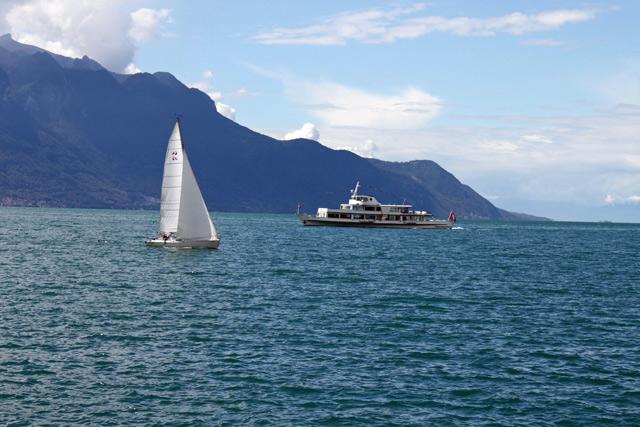 Outdoor Fun Activities On Lake Geneva Lac Leman In Switzerland