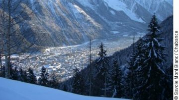 Chamonix in Winter