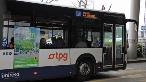 Geneva Airport Bus 5