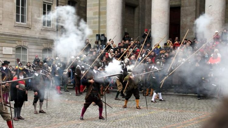 Firing the Muskets at Escalade in Geneva