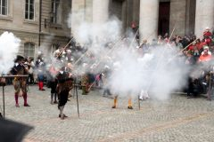 Escalade Celebrations Musket Firing