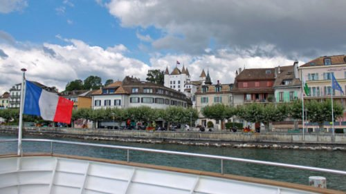 Photos of Nyon on Lake Geneva in Switzerland