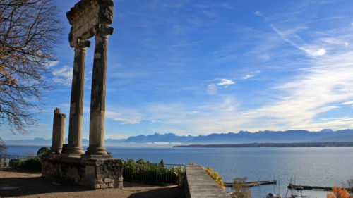 Visit the Roman Museum and Basilica in Nyon, Switzerland