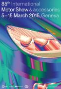 2015 Geneva Auto Salon Poster English