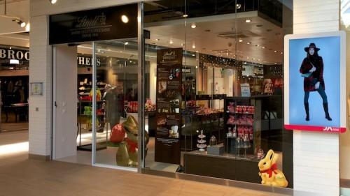 Aubonne Outlet Mall near Geneva