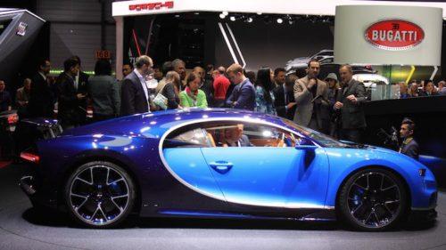 Visiting the Geneva Motor Show (Genève Auto Salon) in Switzerland