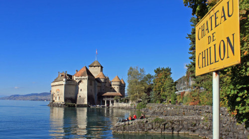 Visit Chateau de Chillon Castle near Montreux