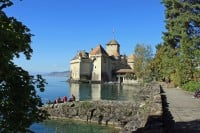 Photo Gallery of Chateau de Chillon Castle in Switzerland