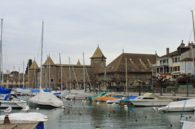 Chateau de Morges on Lake Geneva