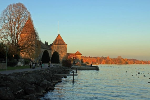 Chateau de Rolle on Lake Geneva