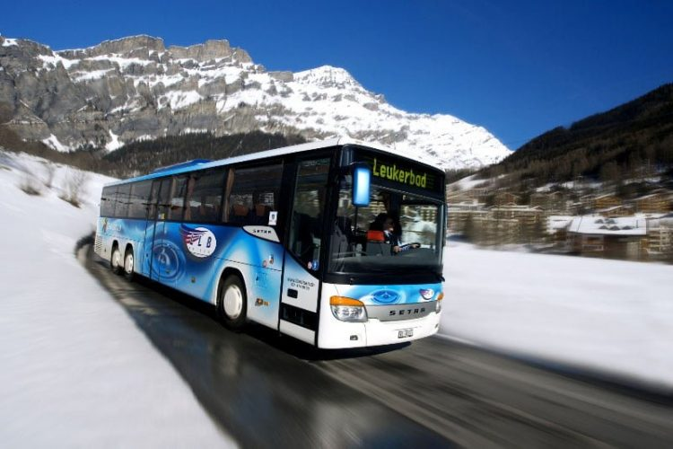 Bus Leuk to Leukerbad - Loeche les Bains