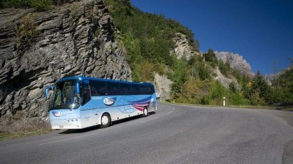 Bus Leuk to Leukerbad - Loeche les BainsBus Leuk to Leukerbad - Loeche les Bains