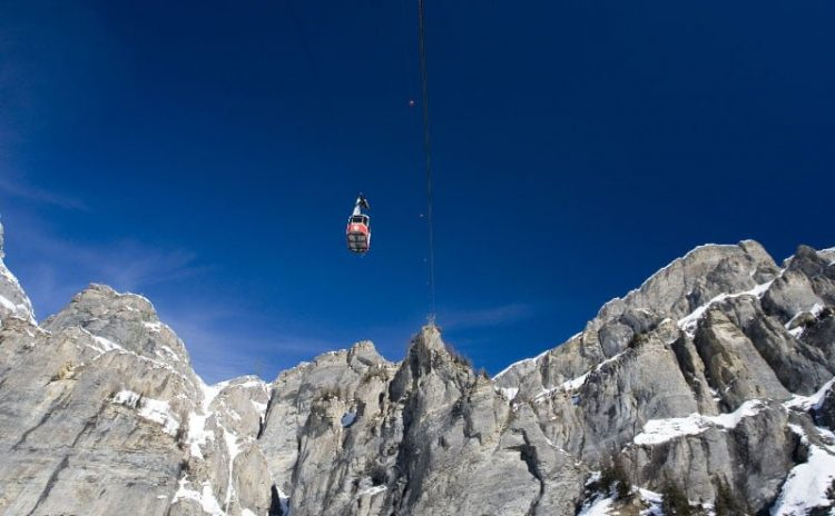 Gemmi Cable Car Leukerbad