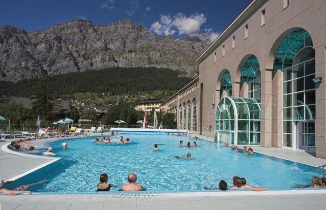 Lindner Walliser Alpentherme & Spa Leukerbad - Loeche les Bains