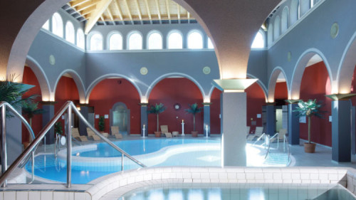 Exclusive Walliser Alpentherme Leukerbad (Lindner) Day Spa & Thermal Baths