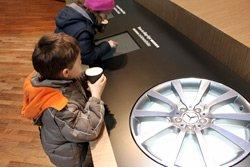 Children at the Auto Salon Geneva