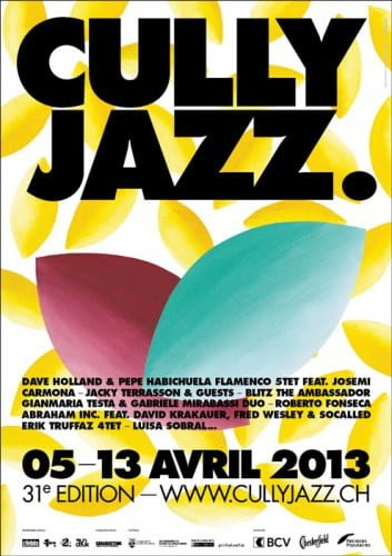 Poster for Cully Jazz 20113
