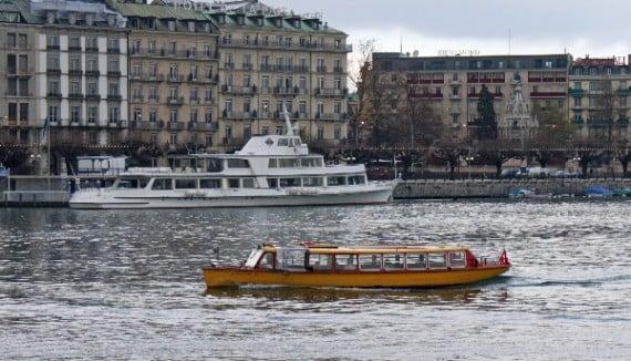 Mouette Ferry on Lake Geneva