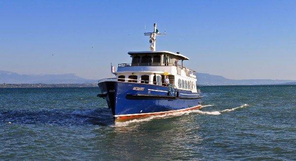 Lake Geneva Passenger Ferry Boat