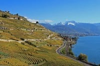 Lakeside Road from Lausanne to Vevey & Montreux