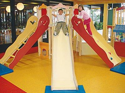 Playroom at Parc Pré Vert at Signal de Bougy, Switzerland