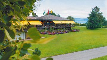 Restaurants Parc Pré Vert at Signal de Bougy, Switzerland