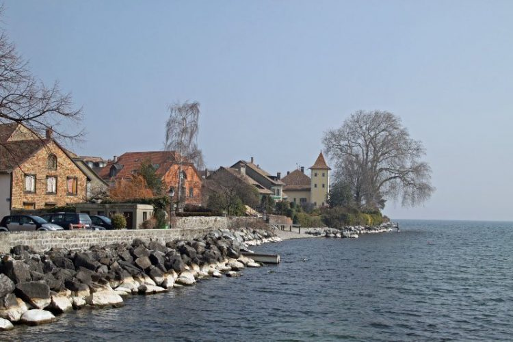 St Prex on Lake Geneva, Switzerland
