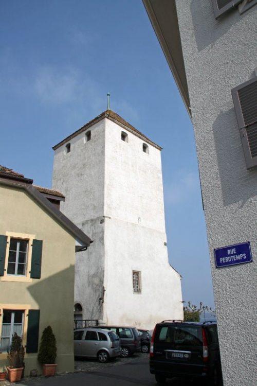 Tower of Chateau de St Prex