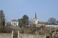 The historic Église St-Prothais in St Prex