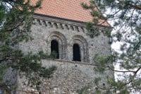 Romanesque St-Sulpice on Lake Geneva