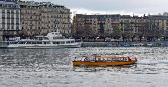 Mouette Ferry Boat in Geneva City