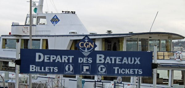 CGN Lake Geneva Pleasure Boat