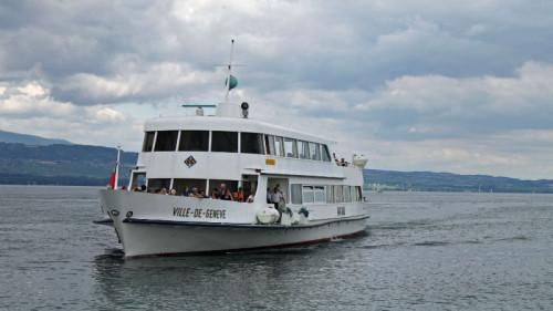 Ville de Genève CGN Lake Geneva Boat
