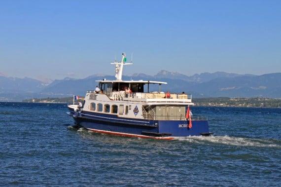 Lake Geneva Cruise Boat