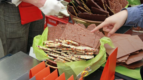 Chocolate Festival in Versoix, Switzerland