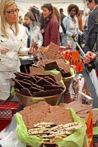 Chocolate Festival in Versoix