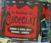Chocolate Festival in Versoix in 2011
