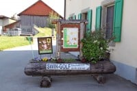 Mini Golf and Swin Golf in Cremin near Lucens in Switzerland
