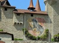 Lucens Castle near Lausanne