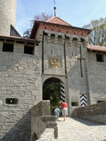 Chateau de Romont Castle in Switzerland