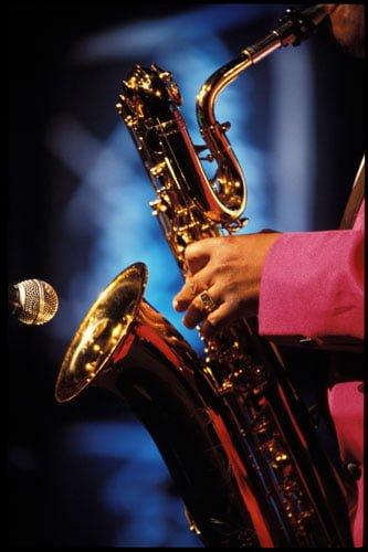 Saxophone at the Montreux Jazz Festival