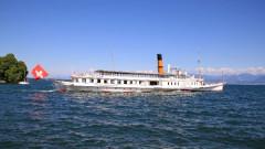 Summer Lake Geneva CGN Boat Excursions and Day Cruises