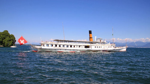 Summer Lake Geneva CGN Boat Excursions and Day Cruises