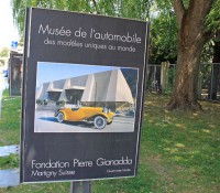 The Fondation Pierre Gianadda in Martigny, Switzerland