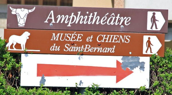 Musée et Chiens du Saint-Bernard in Martigny, Valais