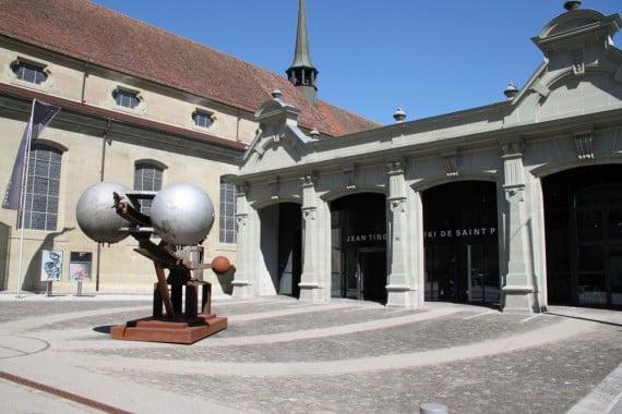 Visiting the Espace Jean Tinguely Niki de Saint Phalle in Fribourg / Freiburg