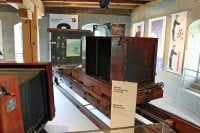 Horizontal Reproduction Camera in the Gutenberg Museum in Fribourg