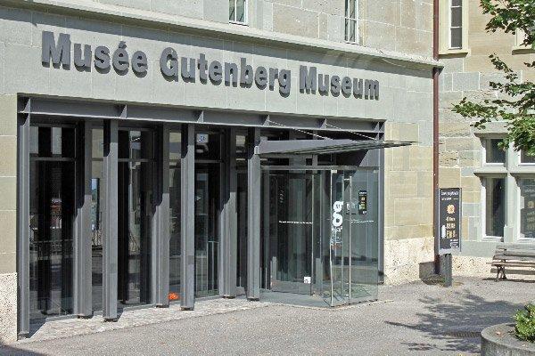 Gutenberg Museum in Fribourg / Freiburg